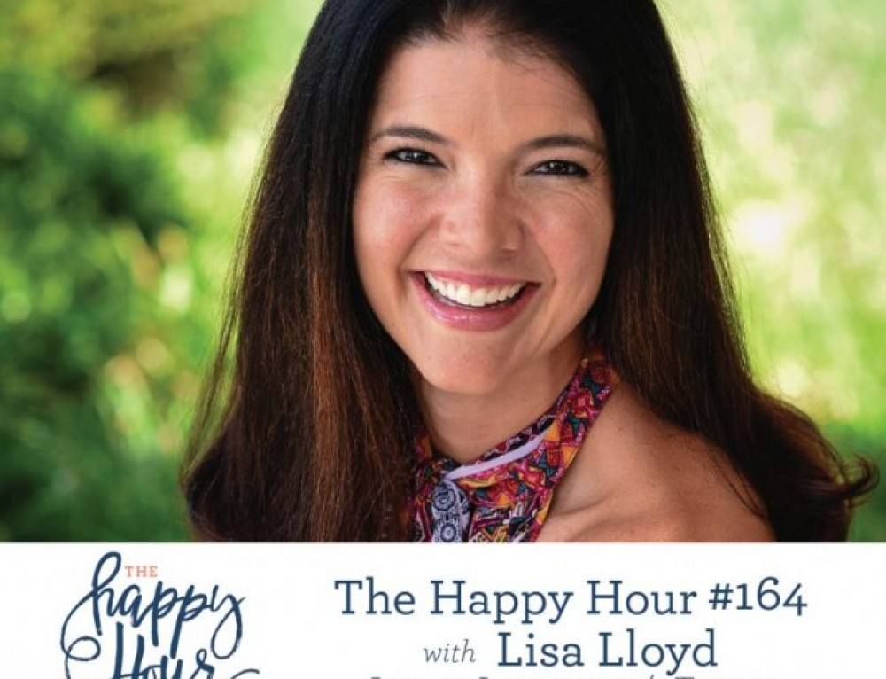 "Lisa interviews with Jamie Ivey on ""The Happy Hour"" podcast"